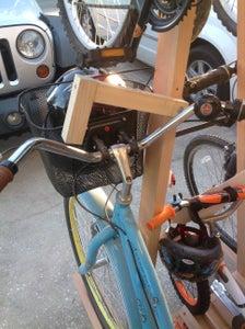 "Custom Bike Locks or ""stays"" for the Lower Two."