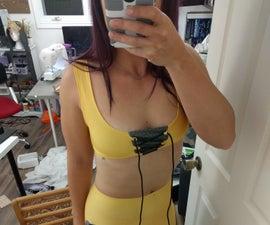 Overwatch Tracer-inspired Bikini Top
