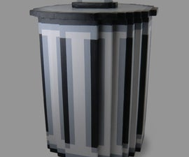 Pixel Trash Can