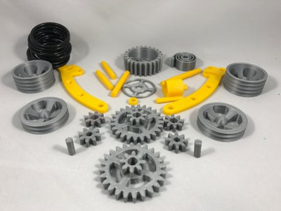Print, Prepare and Purchase All the Parts.