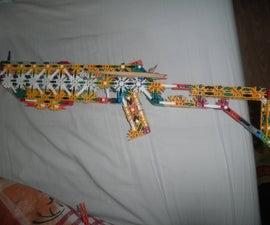 K'nex 'semi pump action' gun