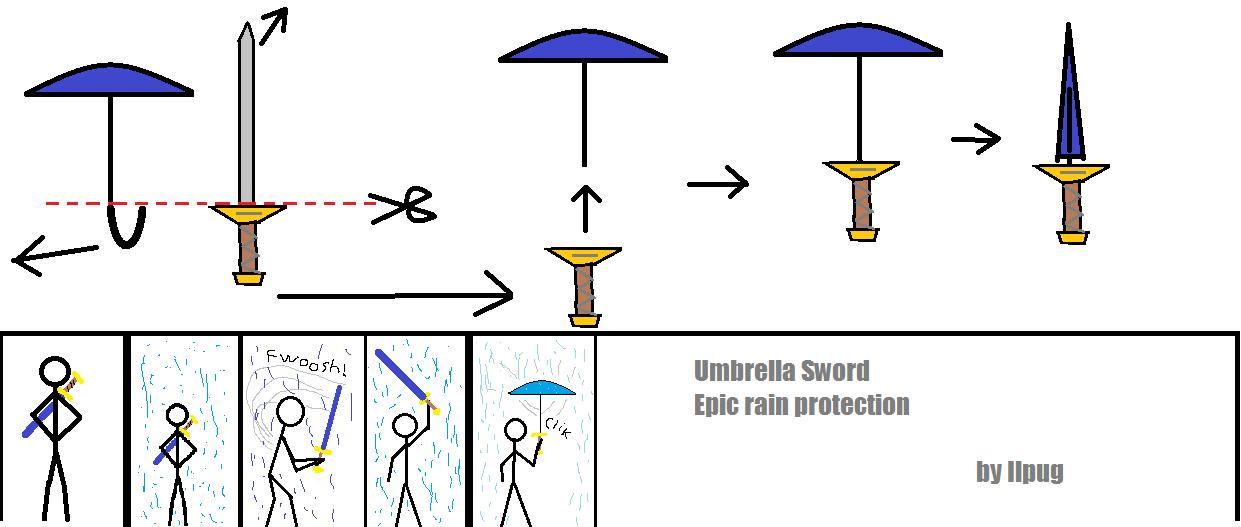 Picture of Free idea: Umbrella Sword!