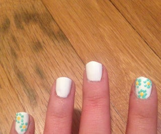 How to Make a Flower Nail Design