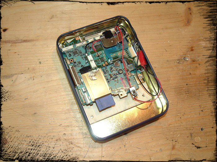 Picture of Building the Box for the Electronics
