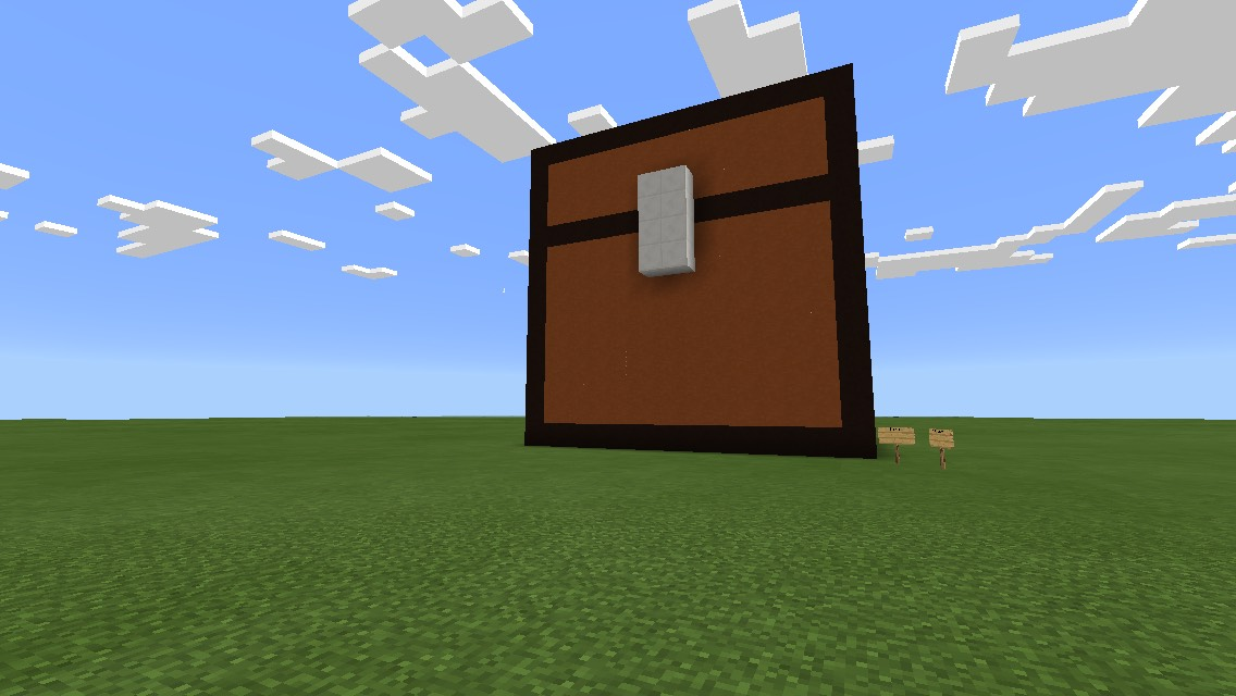 Picture of A Big Minecraft Chest