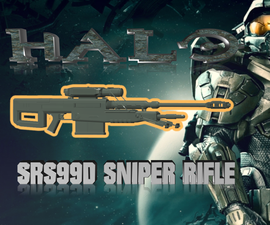 Halo - SRS99D Sniper Rifle - Freedownload :)