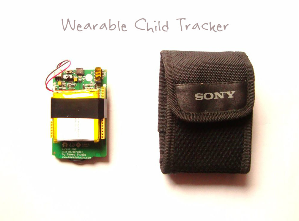 Picture of Wearable Child Tracker