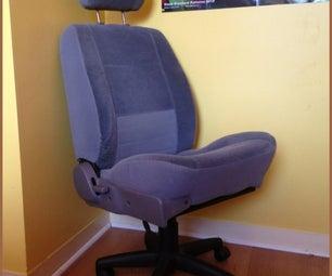 Car Seat Computer Chair