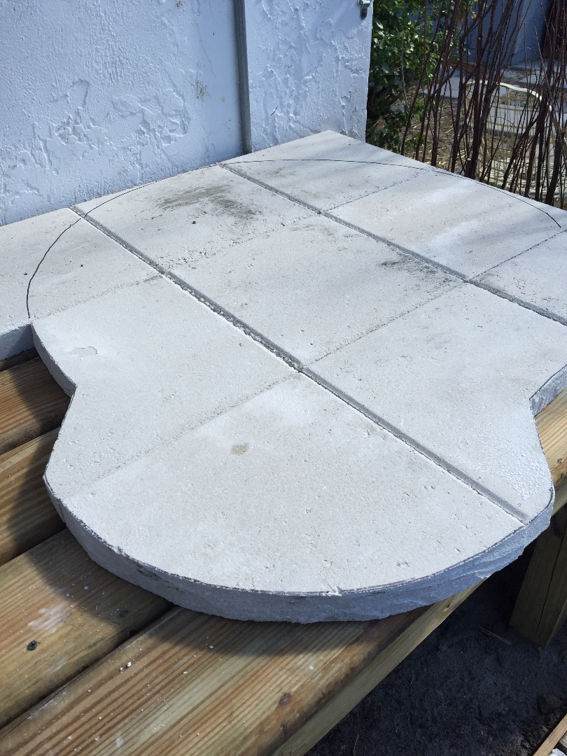 Picture of Stand and Pavers Base.