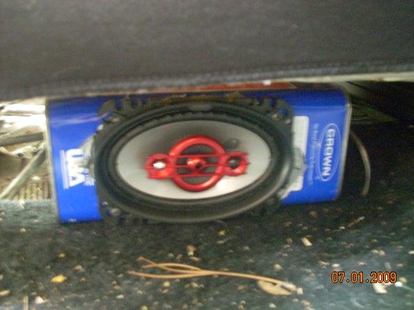 Cheap Homemade Car Speaker Box