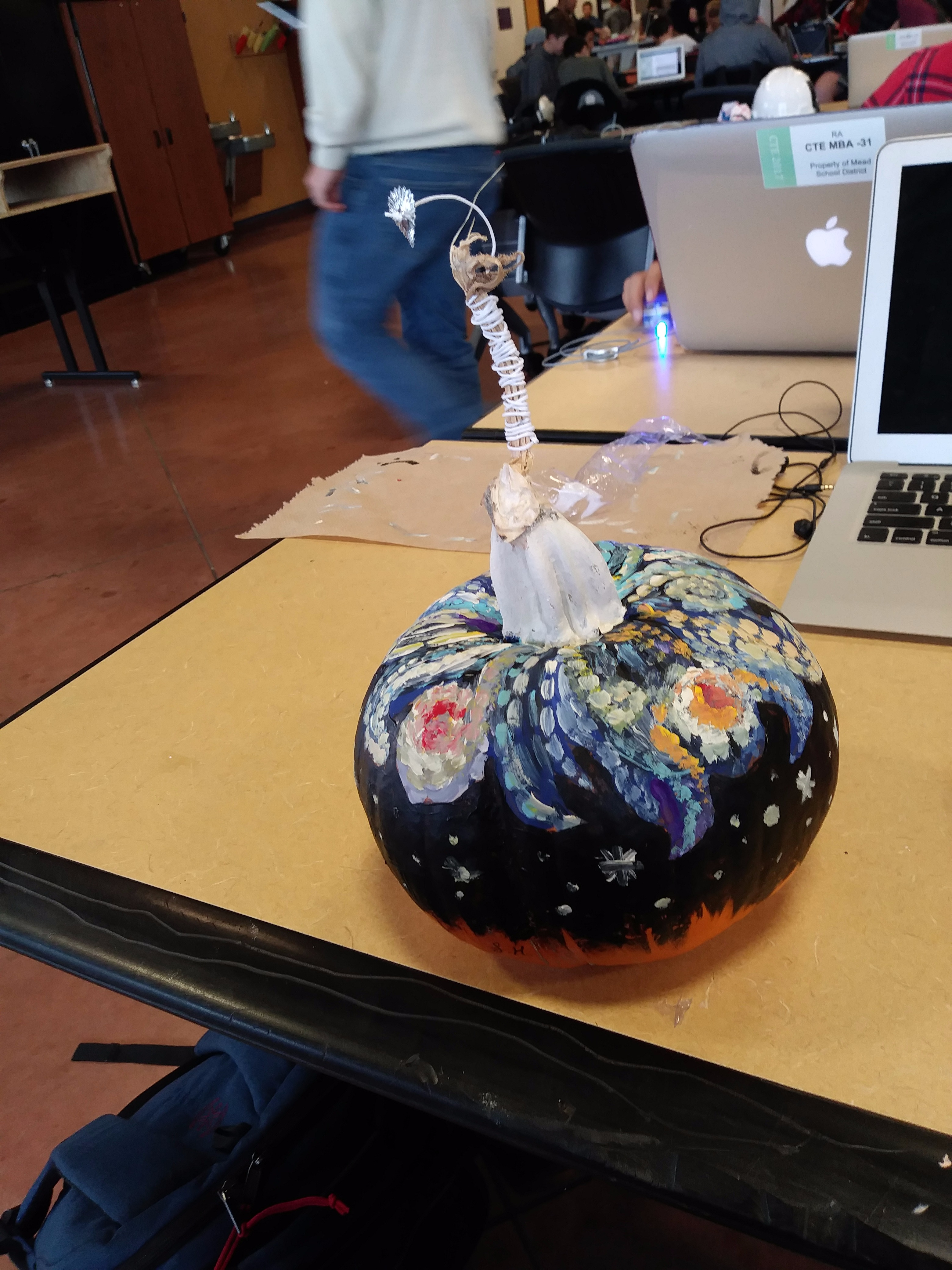 Picture of Starry Night Pumpkin