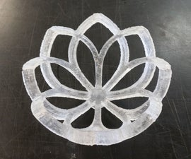 3D Print Turned to Glass!