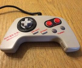 NES MAX D-pad Mod