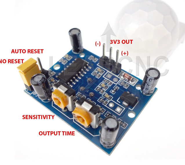 Picture of Wire Up Motion Sensor and Relay