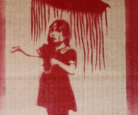 Banksy Spray Paint Art