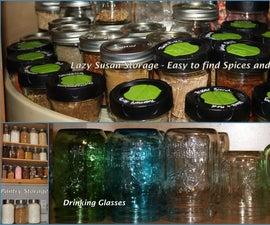 Mason Jar Kitchen Transformation