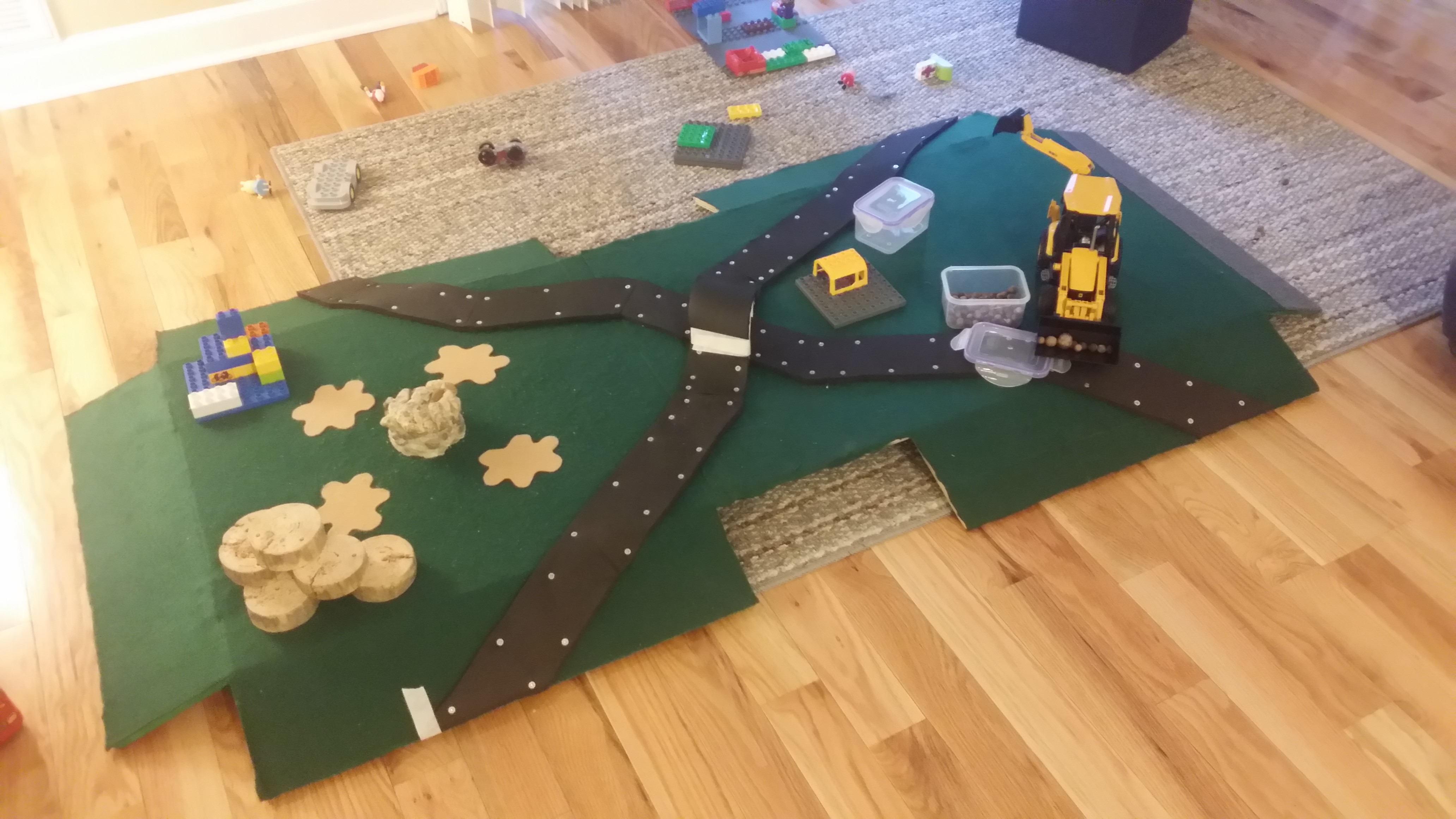 Picture of Finishing the Tunnel and Adding Roads