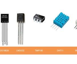 Comparison of Temperature Sensors