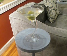 (martini) side table