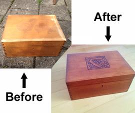 Refurbish a Box for Carcassonne Game
