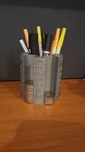 3D Printer Coin/Pen Holder