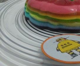 Rainbow Jell-o (multiflavour)