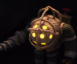 Crochet Big Daddy with Working LEDs