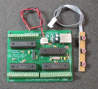 48 Channel Mono / 16 Channel RGB LED Controller