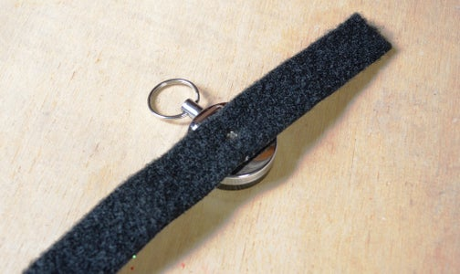 Adding the Key Chain to the Strap