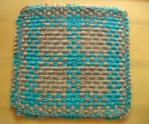 How to Weave a Small Table Mat With Home Made Loom