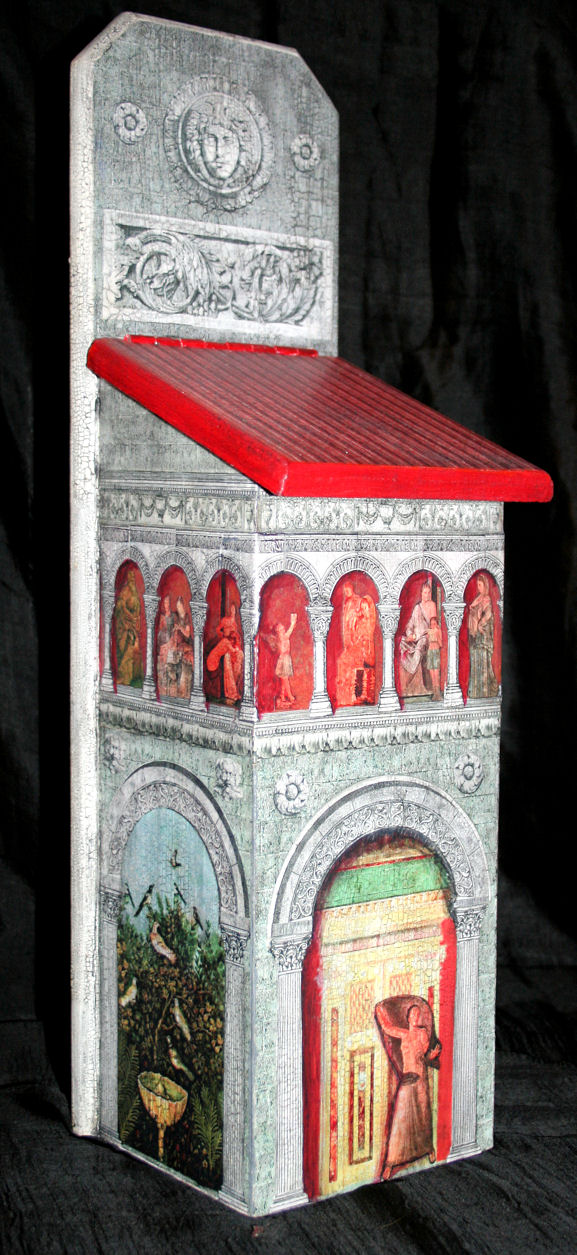 Picture of Beautiful Pompeii Style Decoupage Project (art Included)