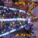 Super Bright Tinsel Led Lights Garland Decoration