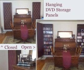 Hanging DVD Storage Panels