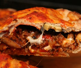 Beer Crust Deep Dish Pizza