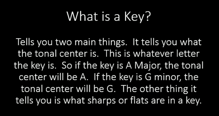 Picture of What Is a Key?