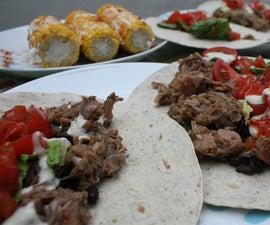 Vegan Jackfruit Carnitas Tacos
