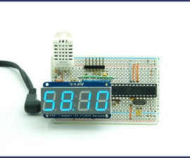 Tempduino - Arduino Based Temp and Humidity Display
