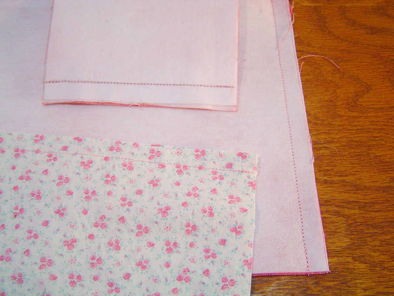 Picture of Pinning and Sewing