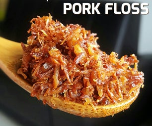 Delicacies by Bread Machine: Pork Floss (Dried Shredded Pork)