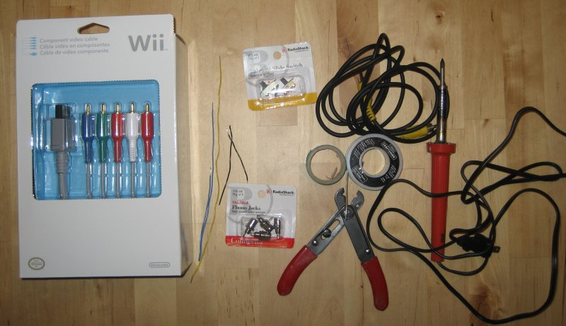 Wii Component Cable Schematic - Wiring Diagram Img on