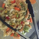 A simple pasta salad
