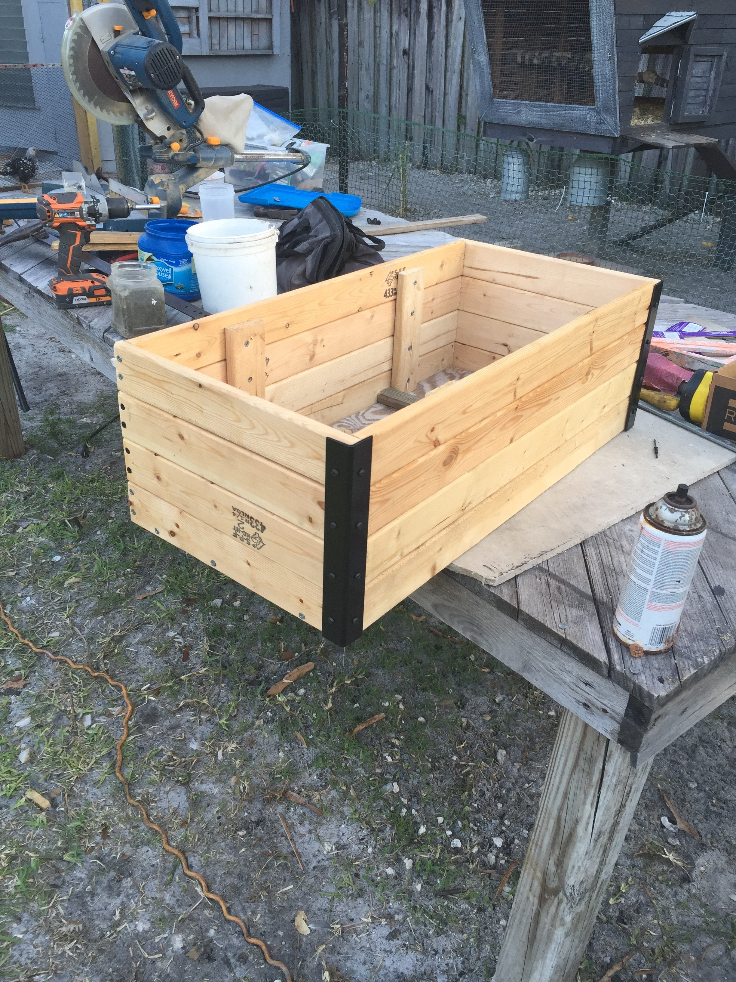Picture of Gather the Materials and Figure Out the Design.. Start With the Planter Box!