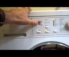 Washing machine countdown timer - Arduino