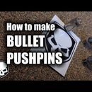 Bullet Push Pins
