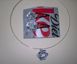 3D Flowers for Jewelry Made From Soda Cans