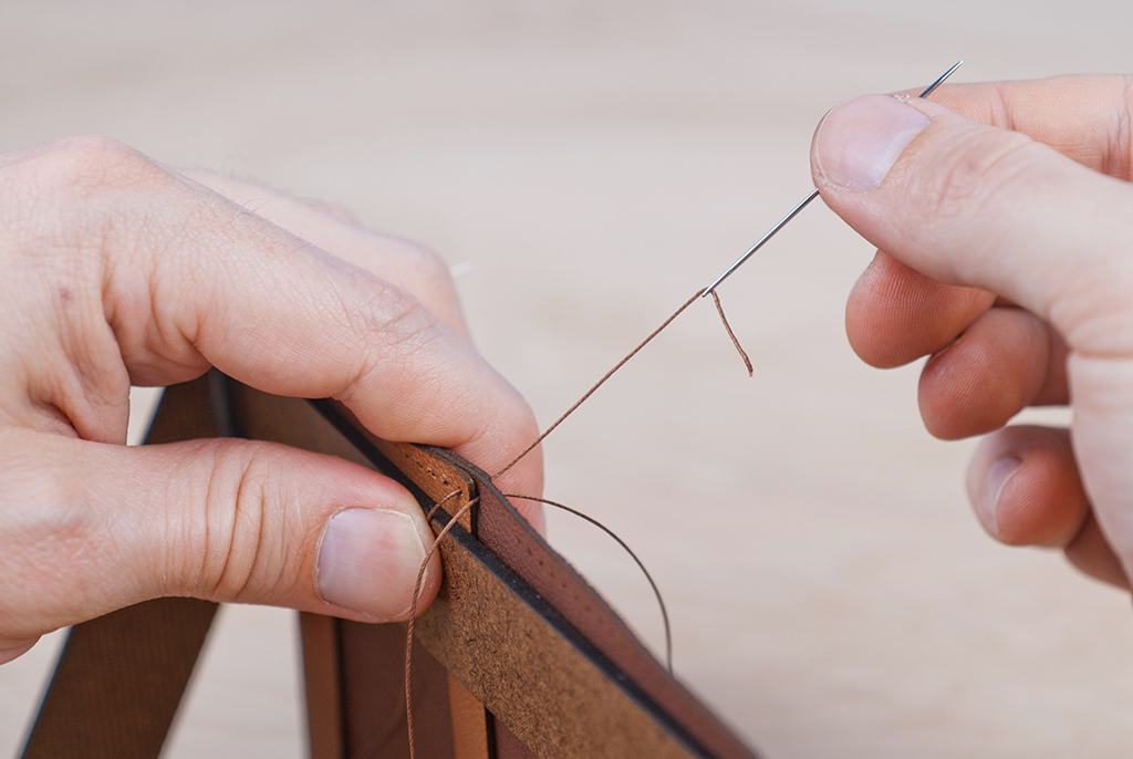 Picture of Saddle Stitching - This Side First