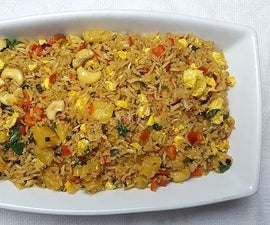 Thai Pineapple Egg Fried Rice