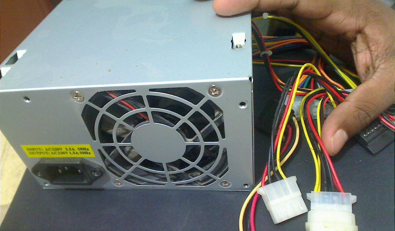 DIY Make 2 SMPS(PSU) Work Together in a Single Pc...: 5 Steps (with ...
