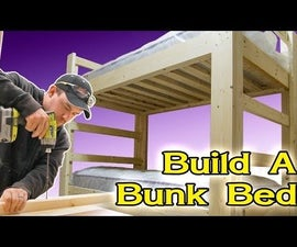 Easy and Strong 2x4 & 2x6 Bunk Bed