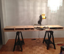 Build a Miter Saw Table - I Made it at TechShop
